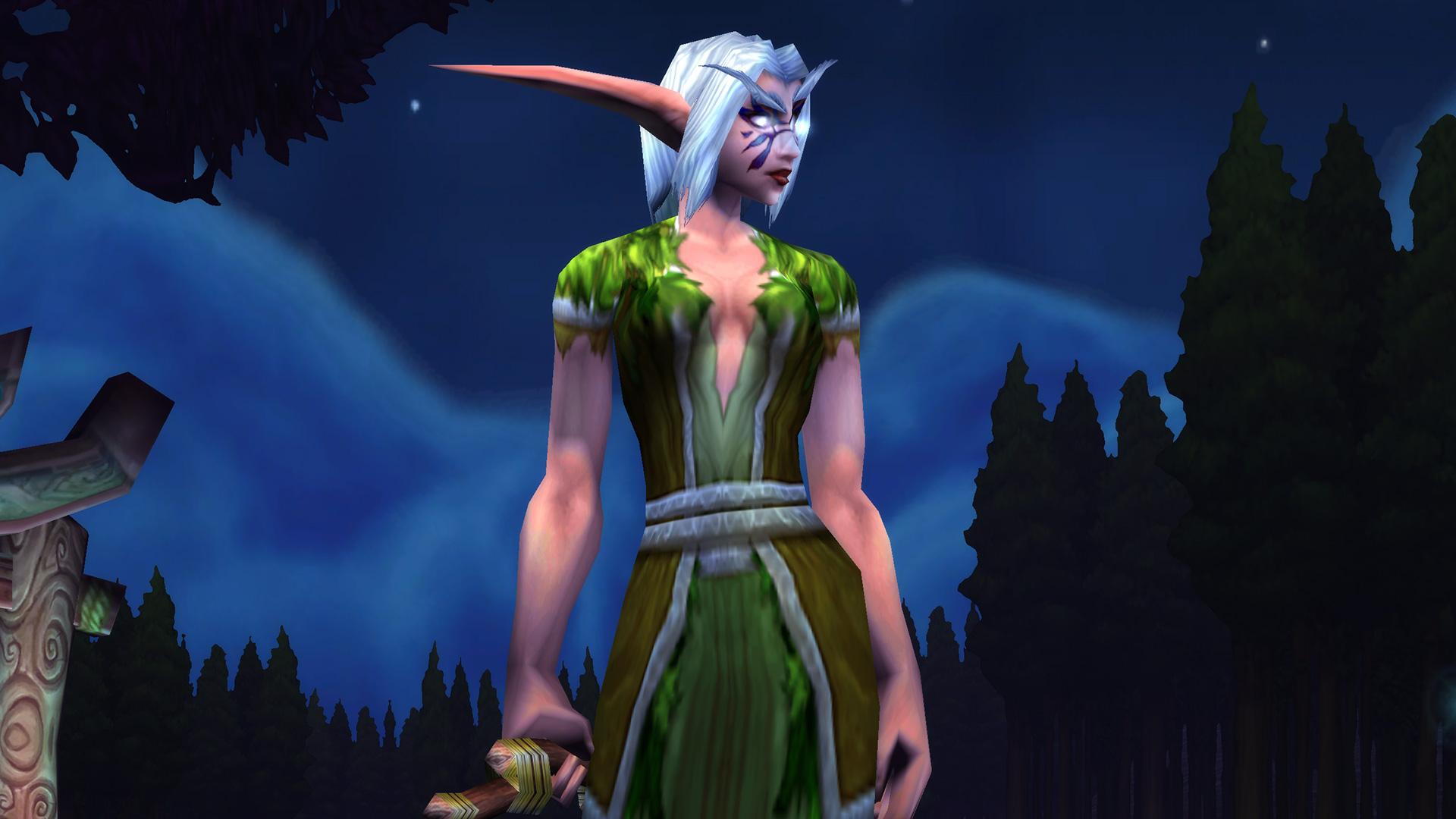 Modèle de femme Elfe de la nuit