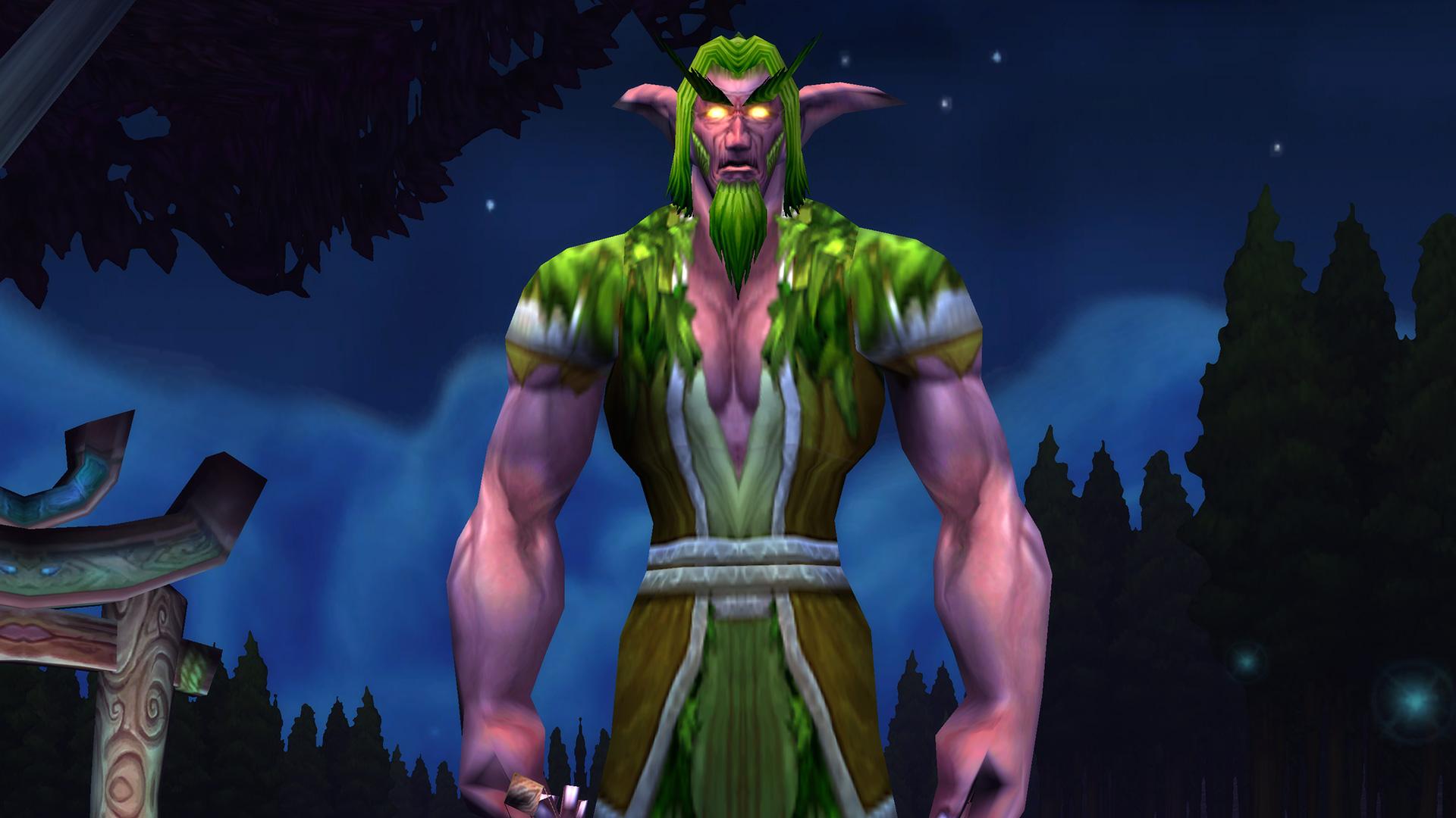 Modèle d'homme Elfe de la nuit