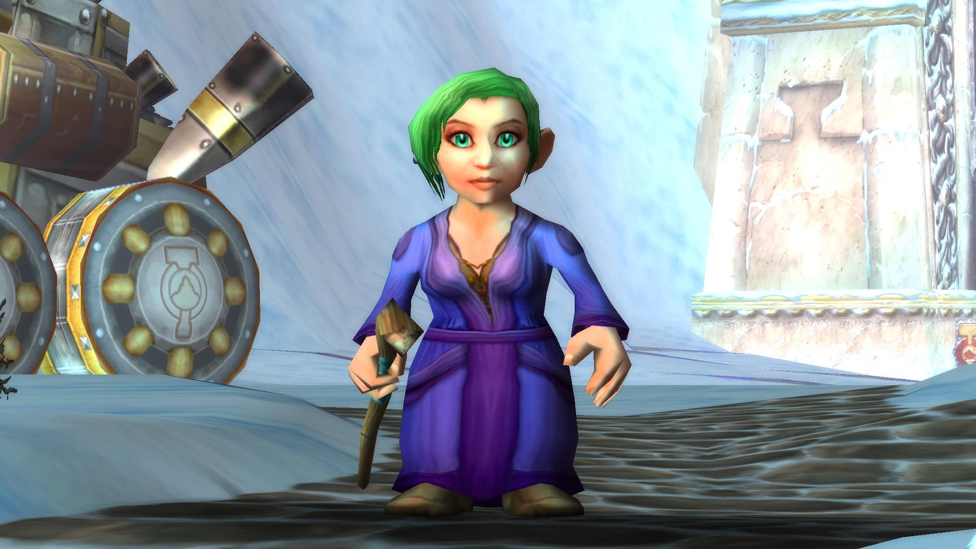 Modèle de femme Gnome