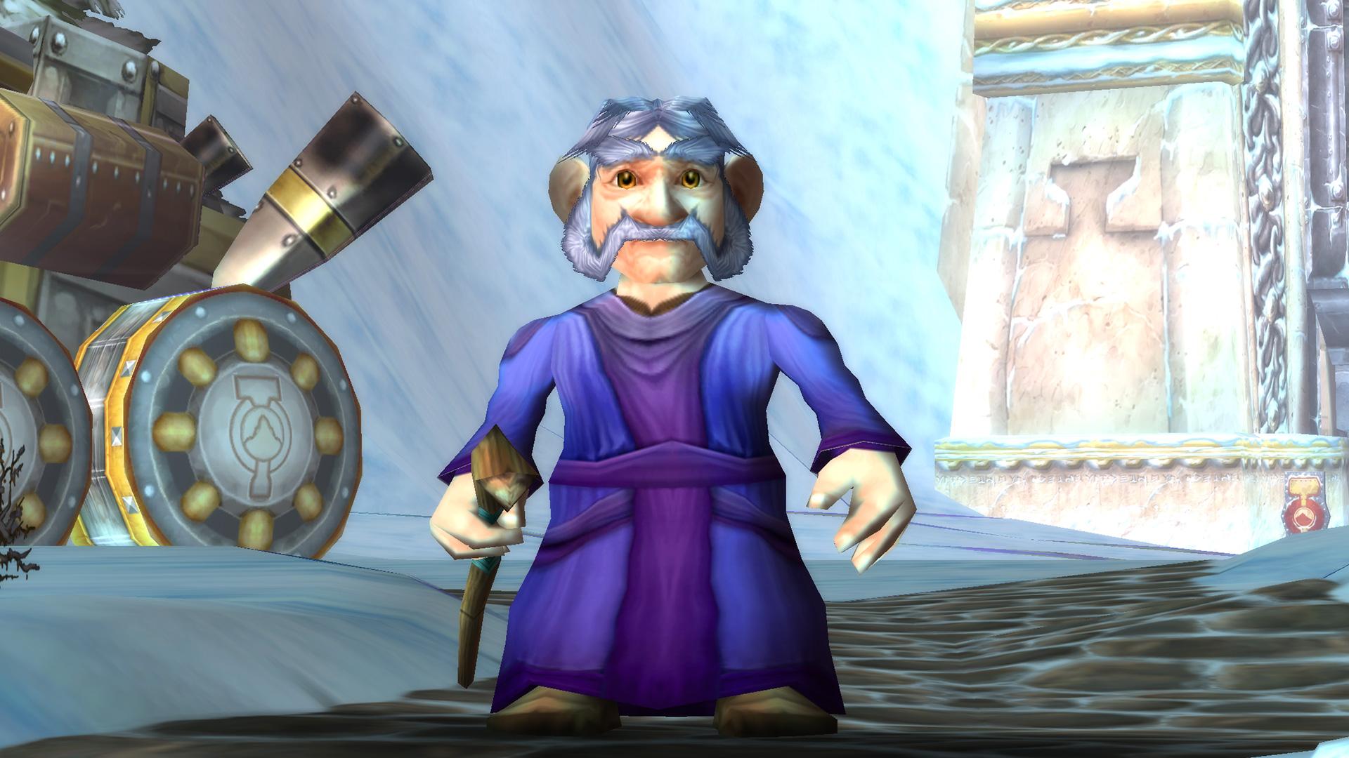 Modèle d'homme Gnome
