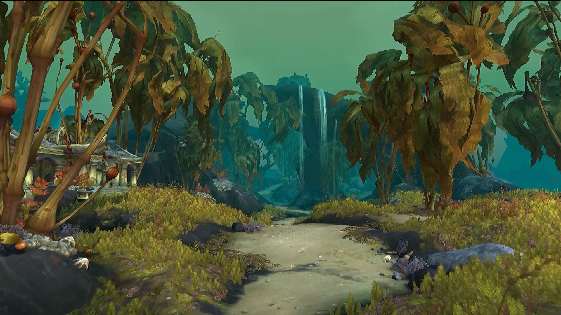 Nouvelle zone du patch 8.2 : Nazjatar