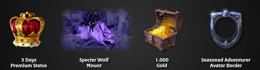 Des récompenses sont offertes aux joueurs ayant acheté le jeu