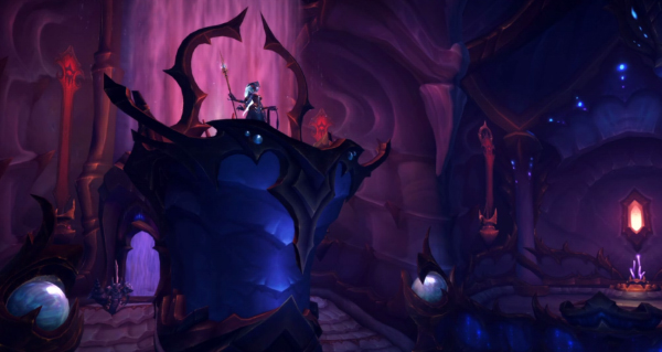 le boss final de battle for azeroth sera devoile a la fin du palais eternel d'azshara