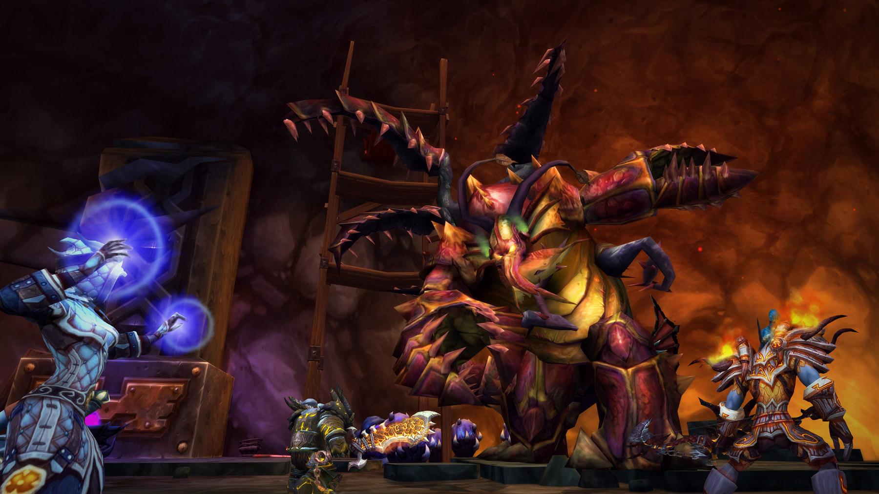 Combattez les boss de Cataclysm pour obtenir du butin adapté au niveau de votre personnage