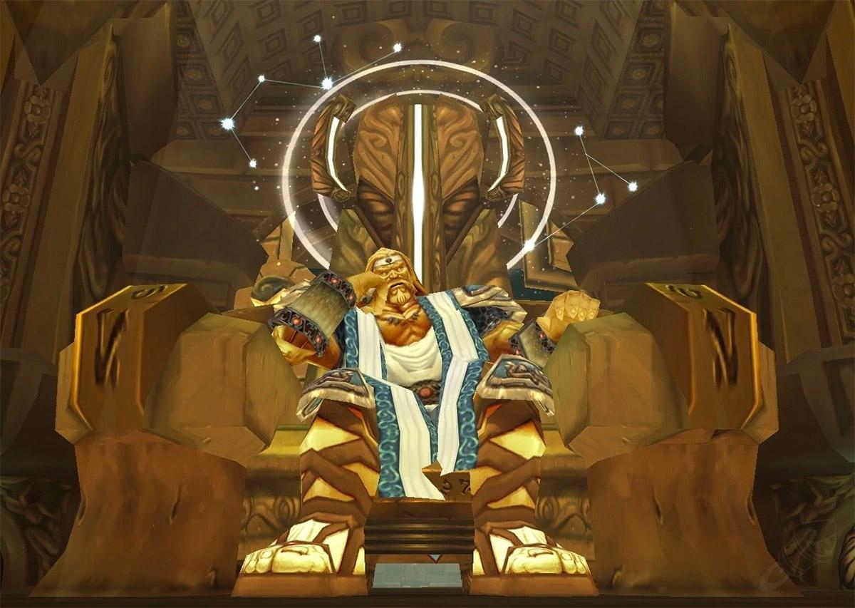 Loken, le boss final des salles de Foudre