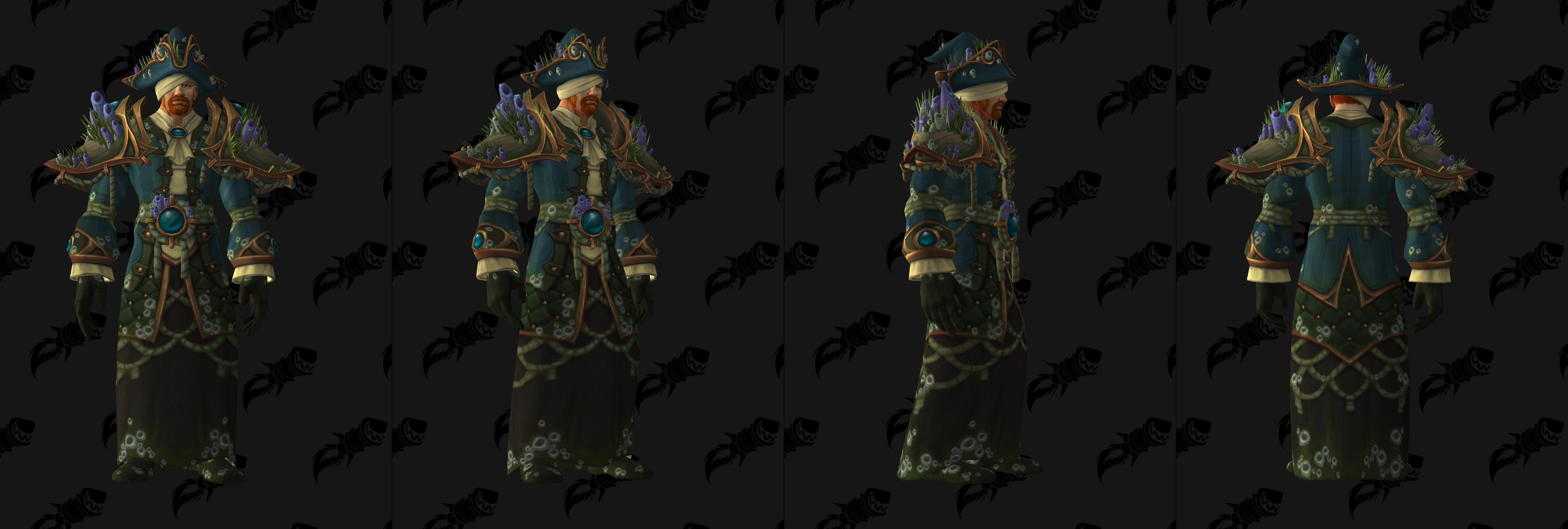 Set d'armure Aspirant en tissu (Alliance)