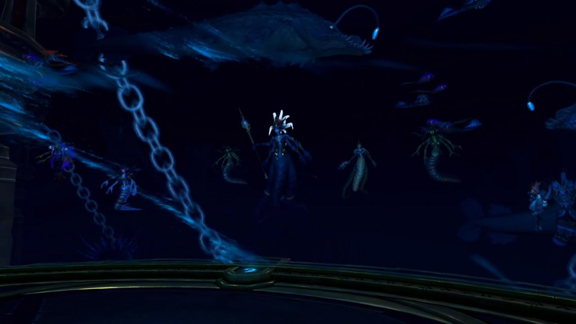 Azshara essaye de libérer N'Zoth de la prison créée par les forgés par les titans