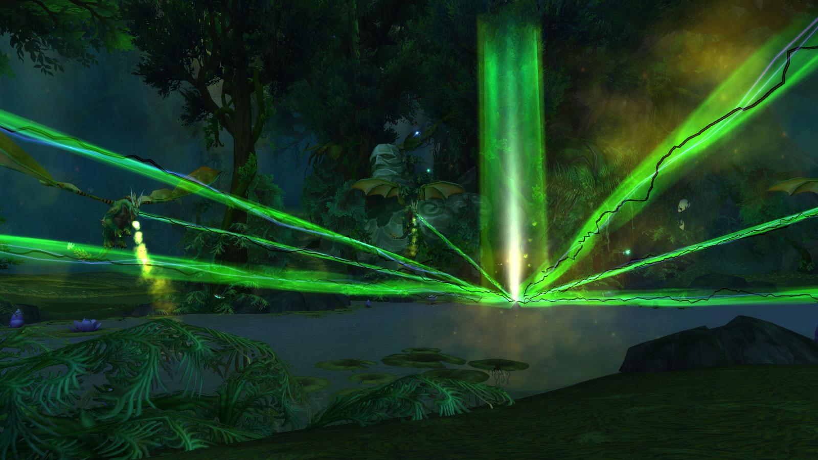 Les Dragons verts aident Merithra à reforger l'essence