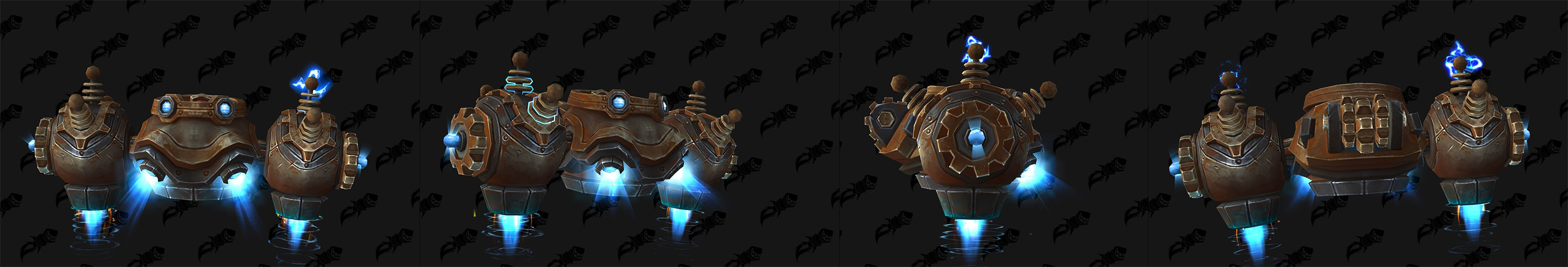 Modèle de machine volante au patch 8.2