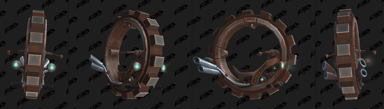 Modèle de cyclo mécanique au patch 8.2