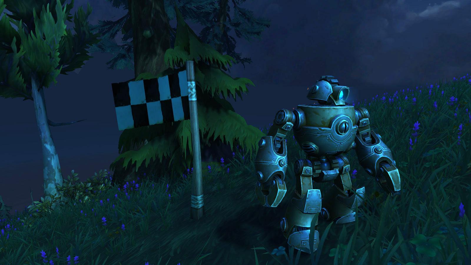Mécagone : Robot point de contrôle