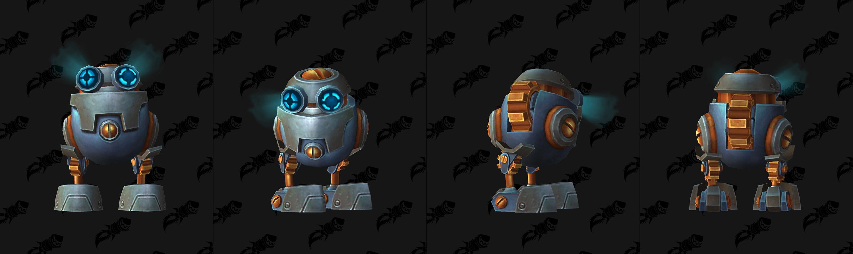 Modèle de mini-robot de Mécagone au patch 8.2