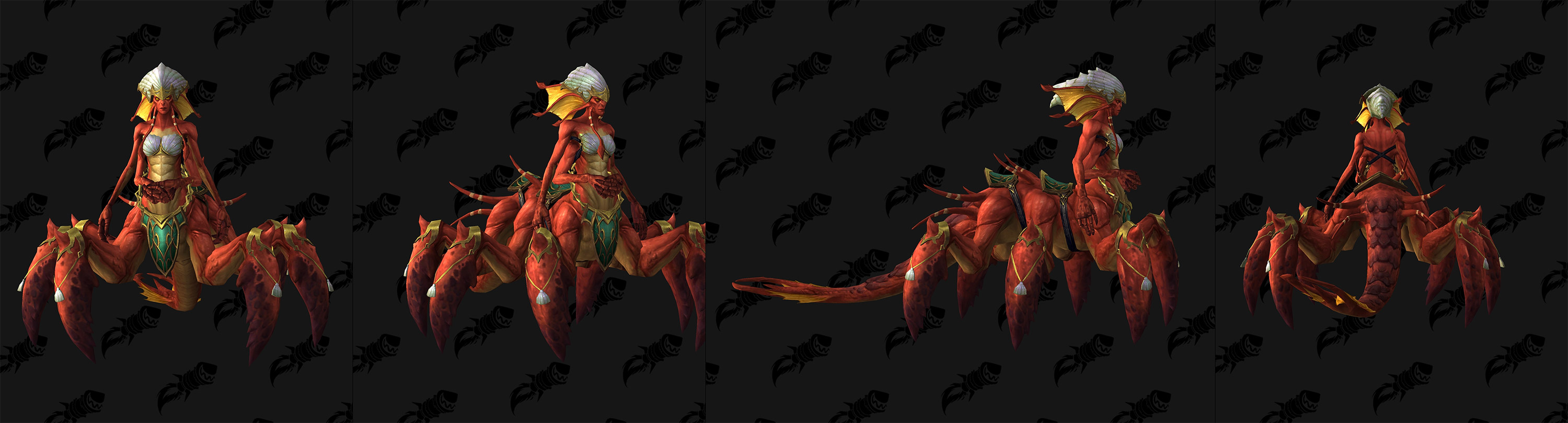 Modèle de boss naga au patch 8.2