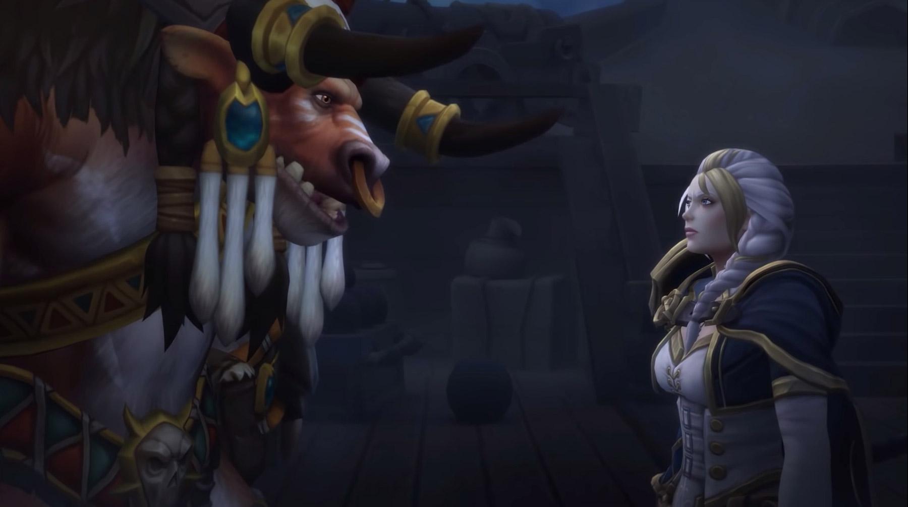 Jaina se sent redevable envers Baine Sabot-de-sang