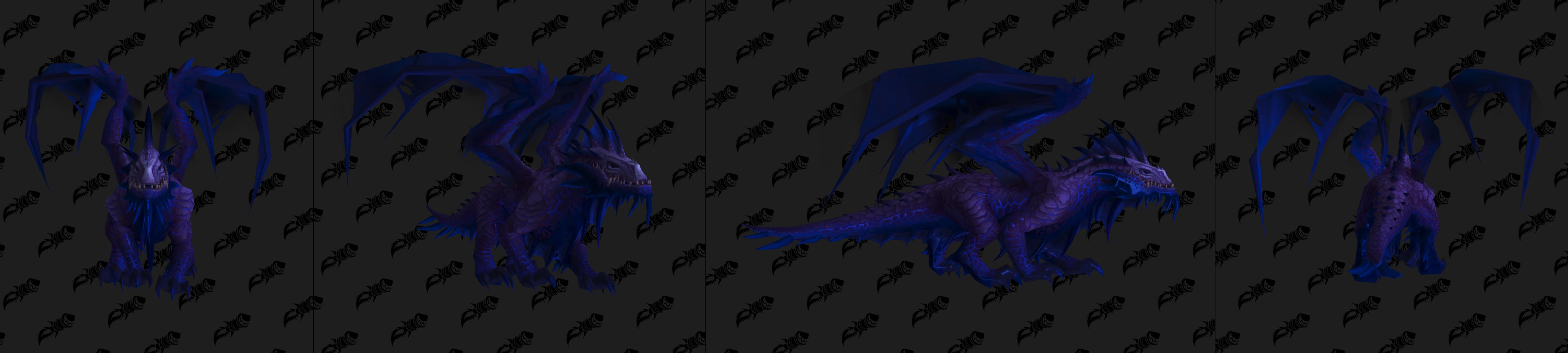 Nouveau modèle de dragon du Vide