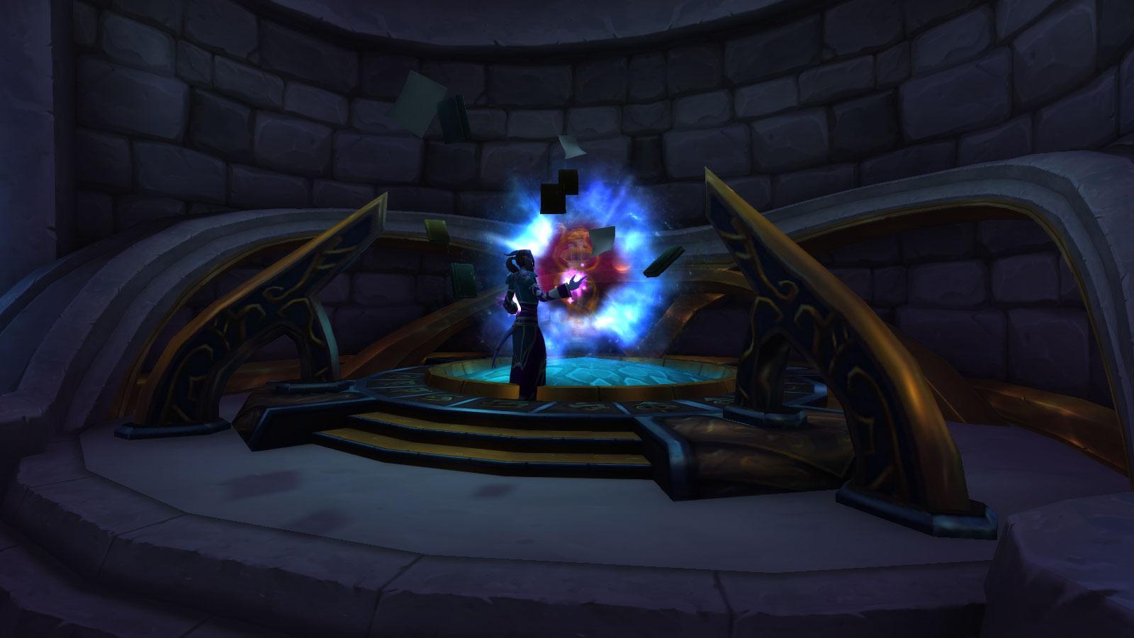 Un portail vers les Grottes du temps ajouté au patch 8.2