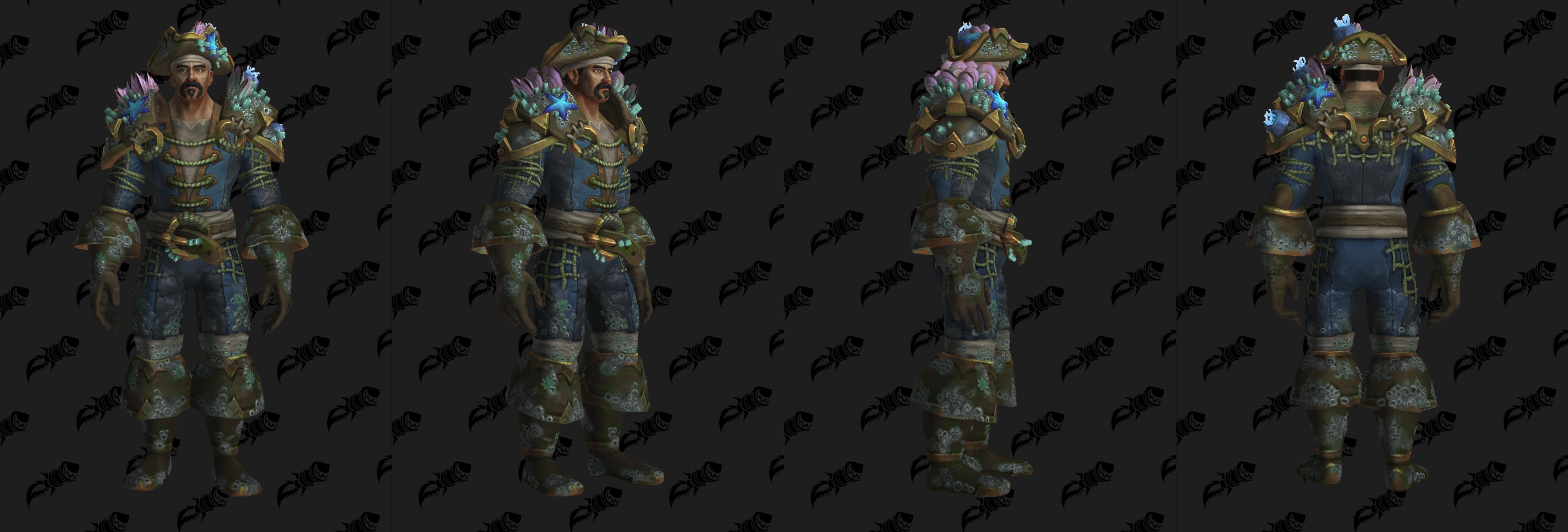 Set d'armure Aspirant en cuir (Alliance)