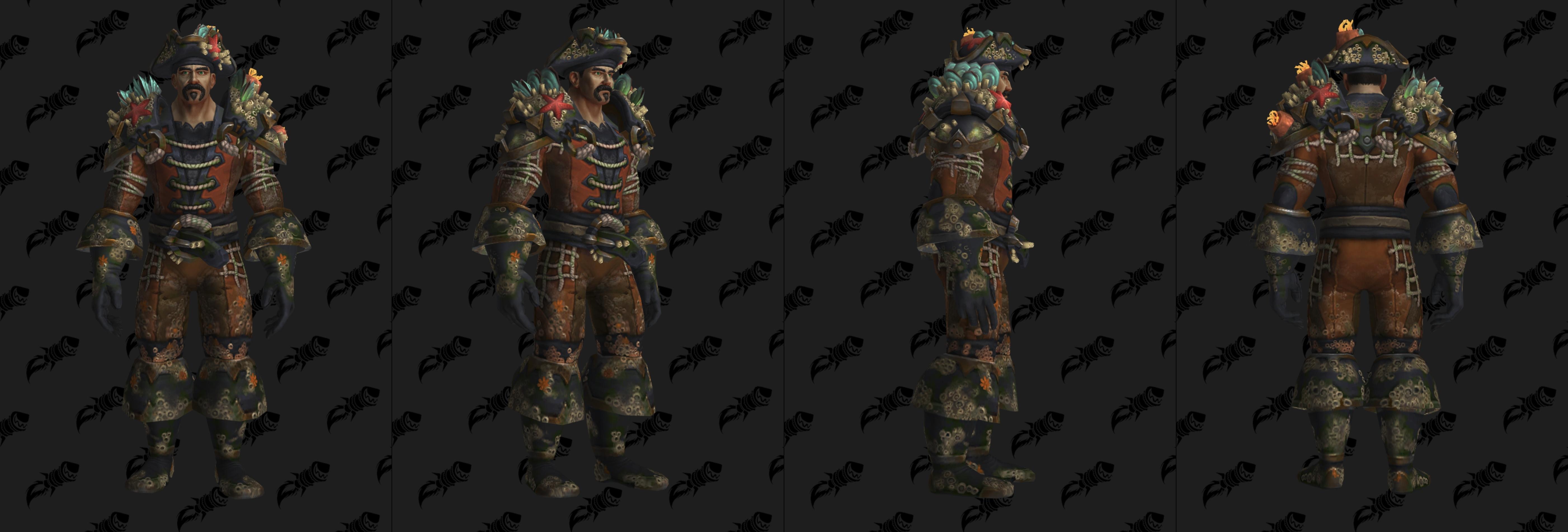 Set d'armure Aspirant en cuir (Horde)
