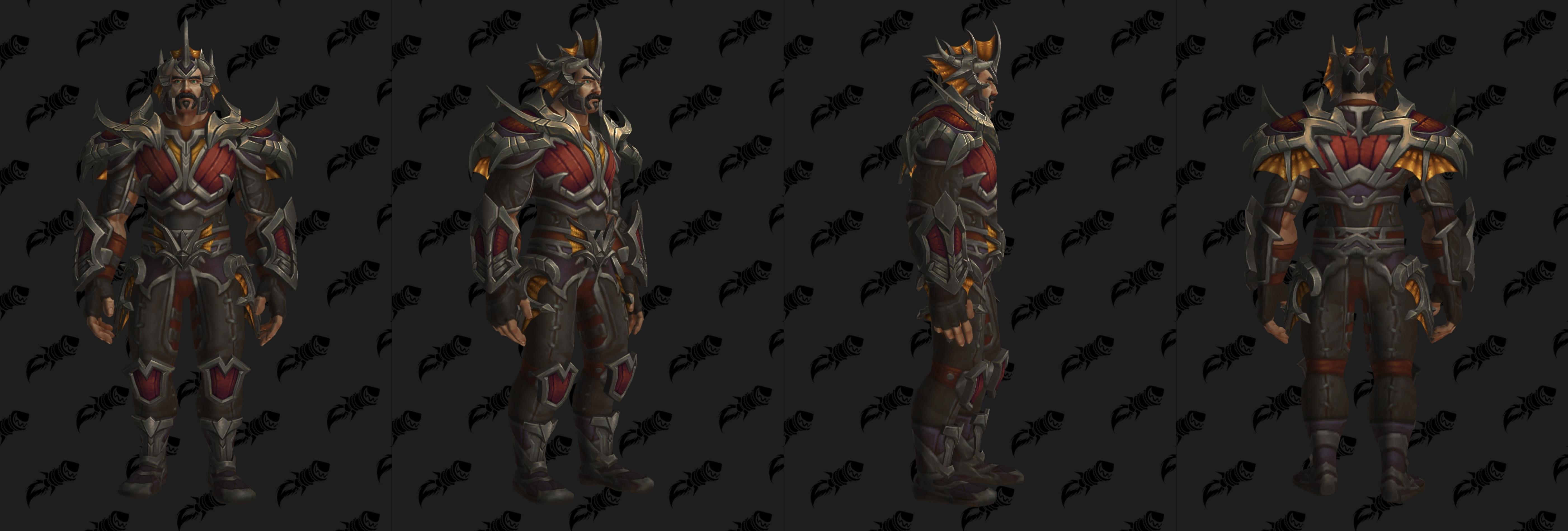Set d'armure Gladiateur en cuir (Horde)