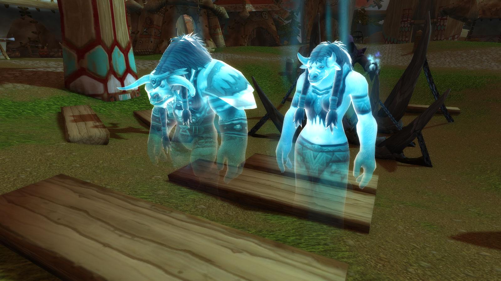 Les esprits de Cairne Sabot-de-Sang et Tamalaa apparaissent afin de délivrer un message à leur fils