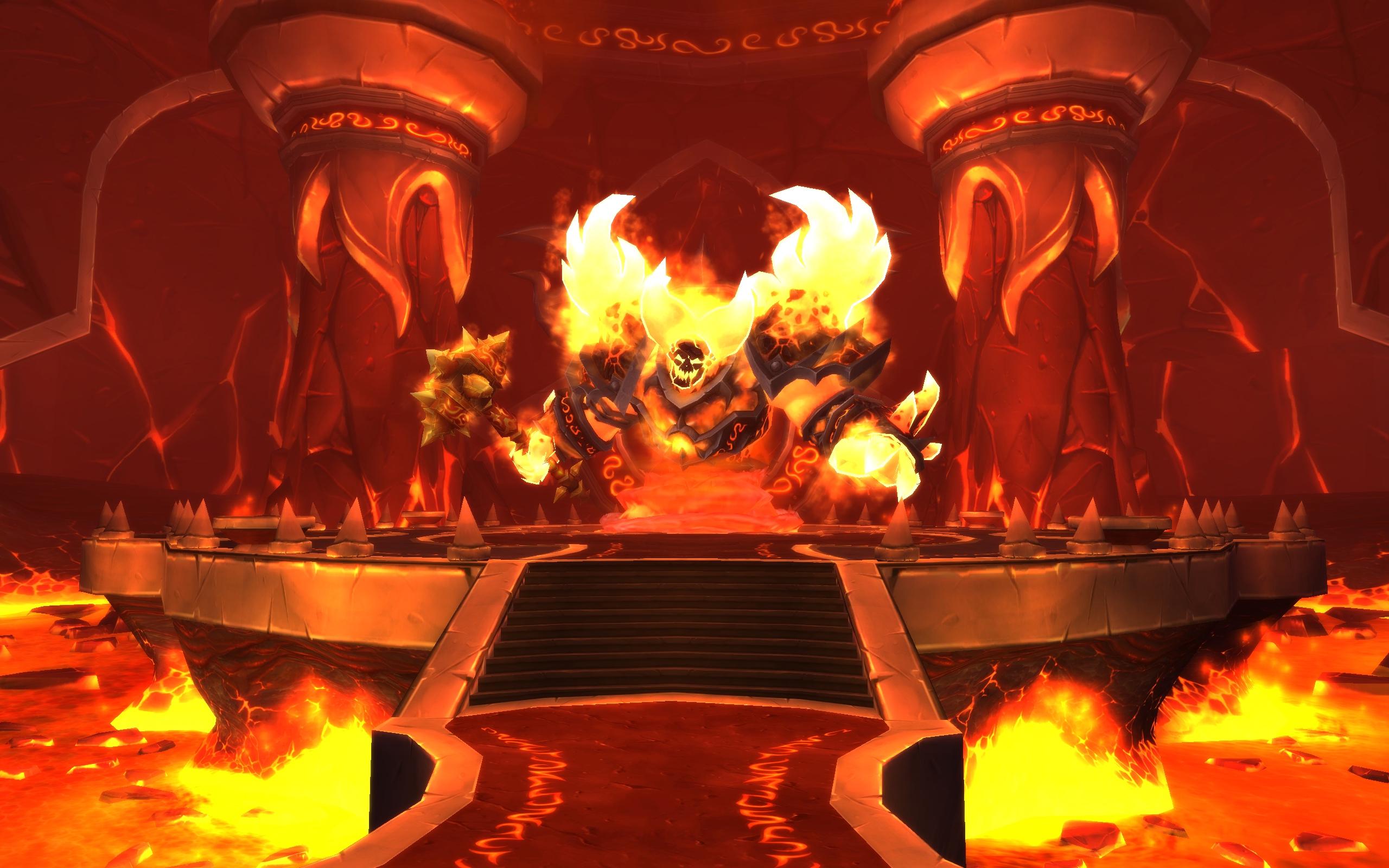 Ragnaros vous attend dans son repaire des Terres de feu