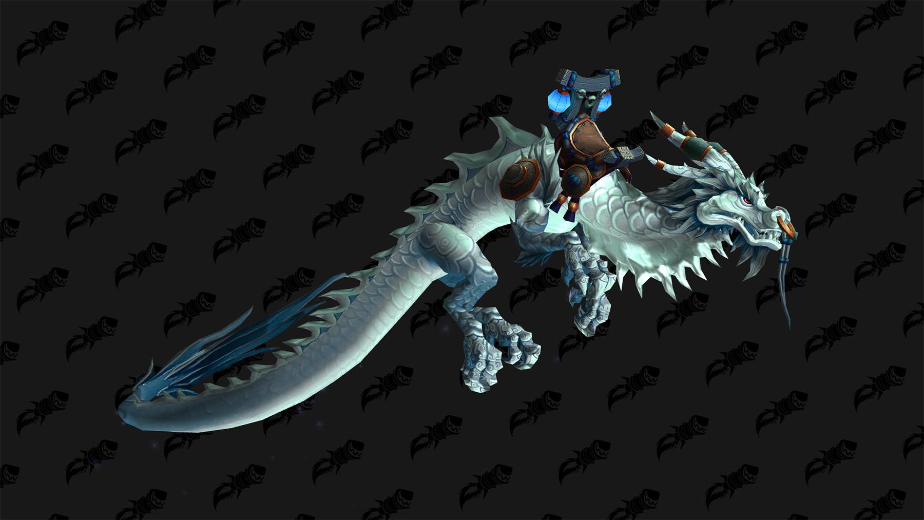 Zhang Ku propose le serpent de guerre rajani en échange d'une écaille de serpent-nuage en parfait état