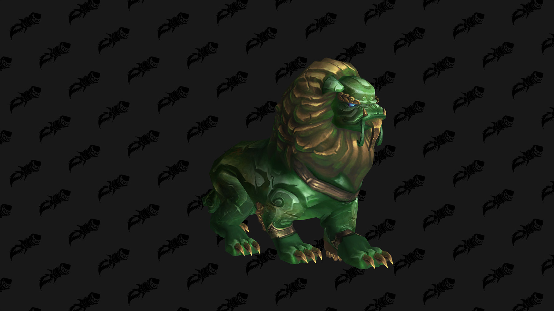 Mascotte Défenseur de jade