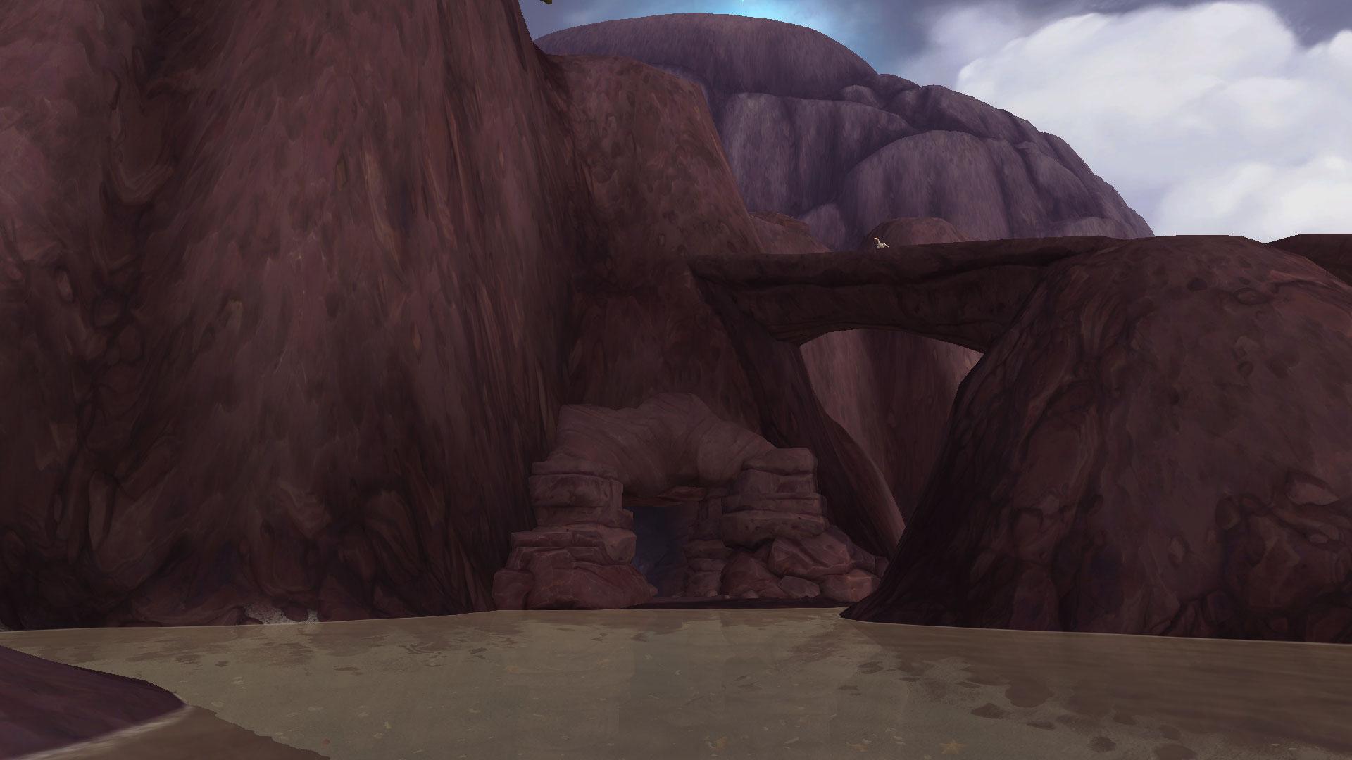 Entrée de la grotte de Toatana
