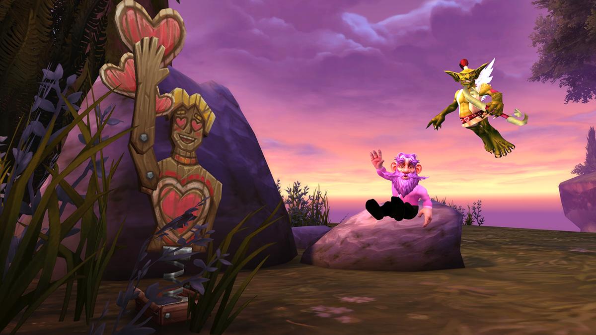 De l'amour dans l'air revient dans World of Warcraft