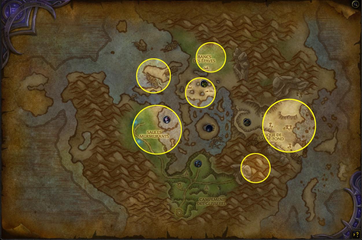 Farmez les breloques ravissantes dans le donjon Oeil d'Azshara