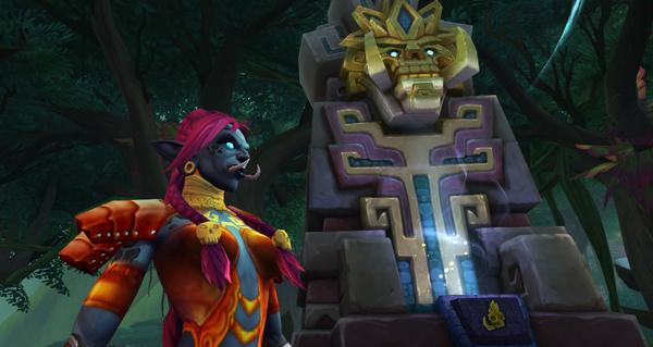 troll zandalari : emplacements des sanctuaires de l'etreinte des loas