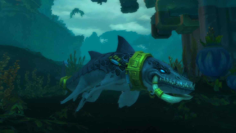 Forme de voyage aquatique - Troll zandalari