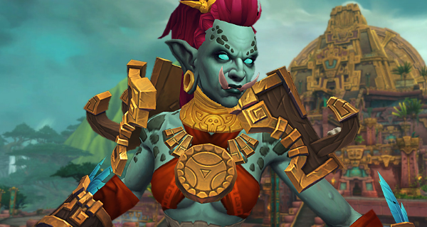 troll zandalari : race alliee battle for azeroth