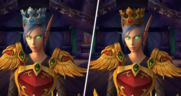 Bataille de Dazar'alor : obtenez une couronne dans la table de butin d'opulence