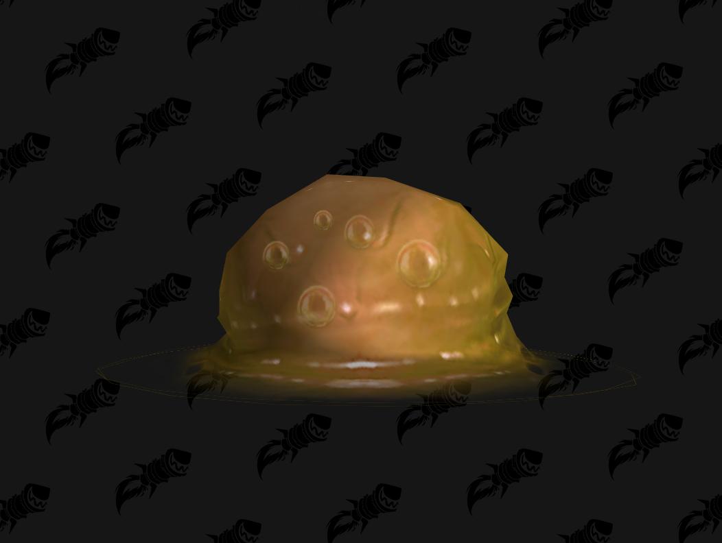 Terreur gelée d'ambre, mascotte de BFA qui s'obtient dans le Coeur de la peur
