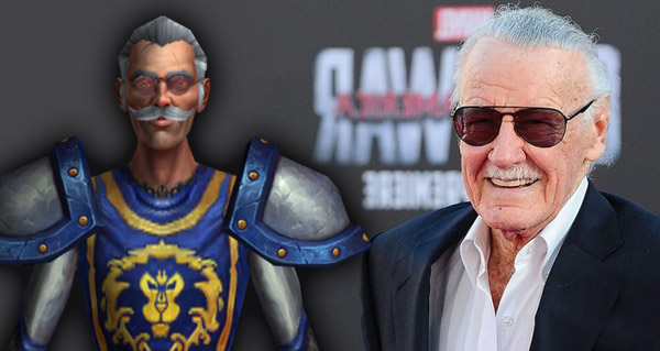 blizzard rend hommage a stan lee au patch 8.1.5
