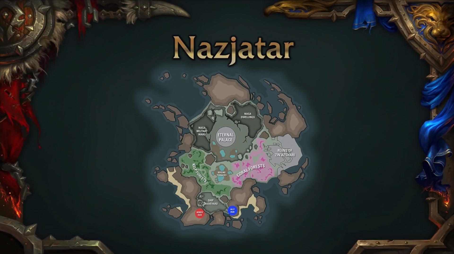 Carte de Nazjatar