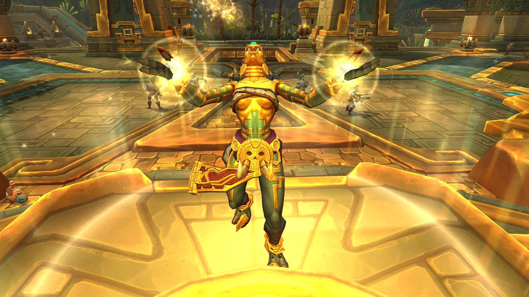 la prêtresse Alun'za est une fervente protectrice d'Atal'Dazar
