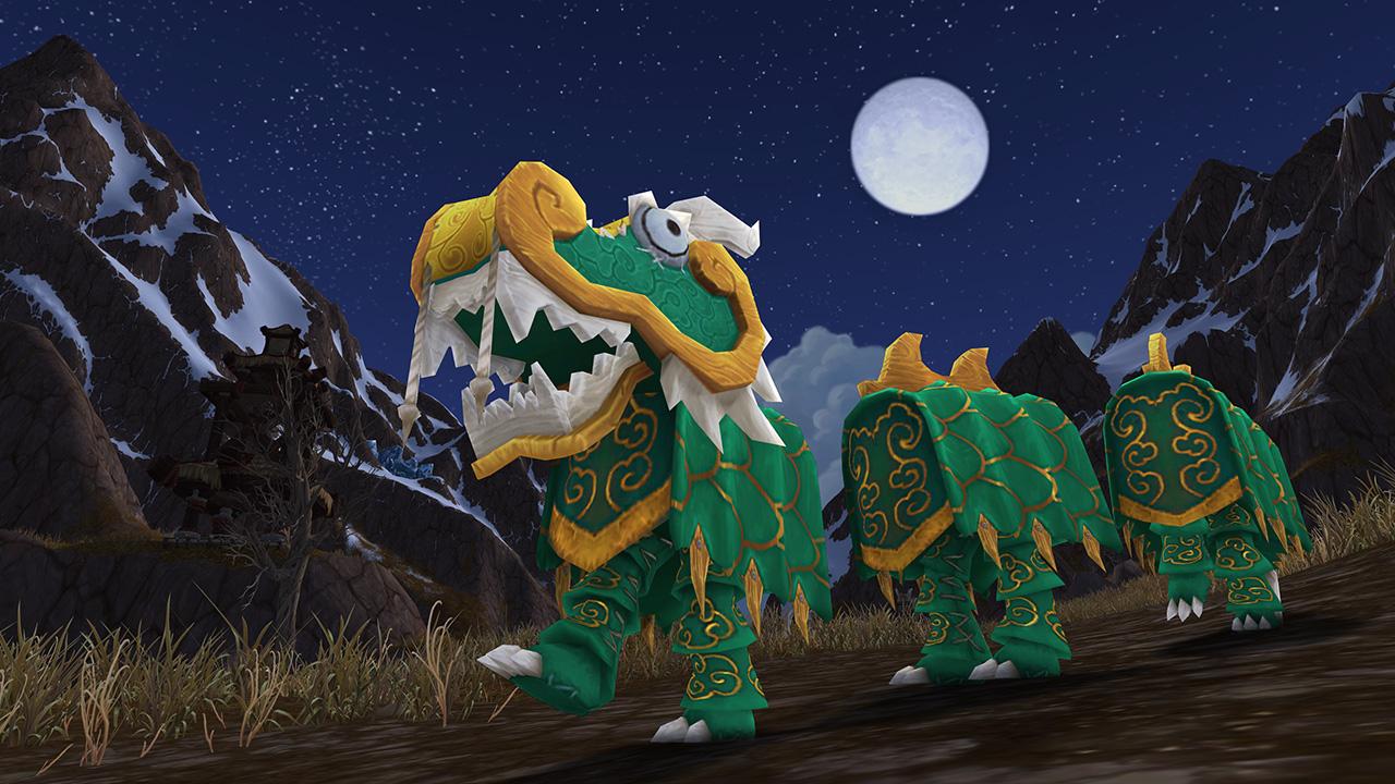 Costume de dragon vert