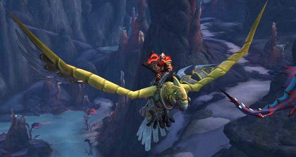vol dans bfa : le joueur ted bacinschi debloque la seconde partie du vol au patch 8.2