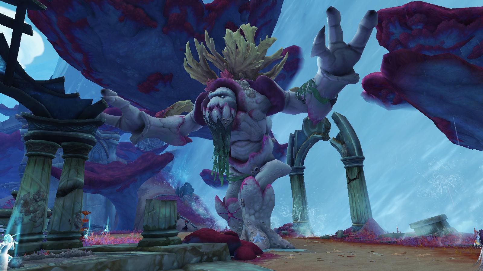 Oronu, l'Ancien marcheur des récifs