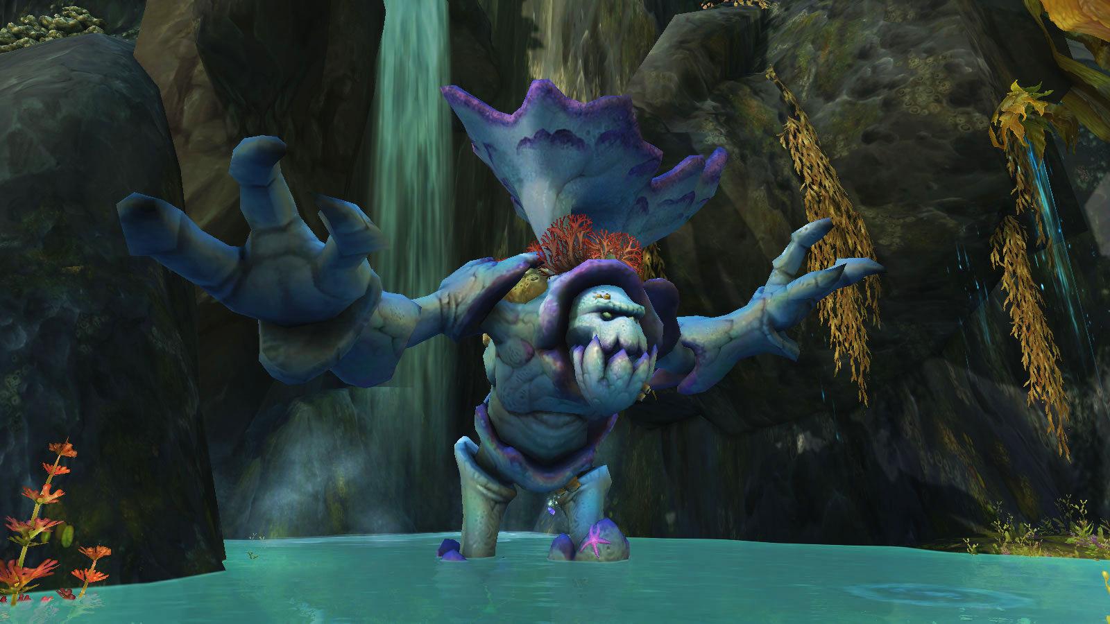 Saulicorne, l'Ancien marcheur des récifs
