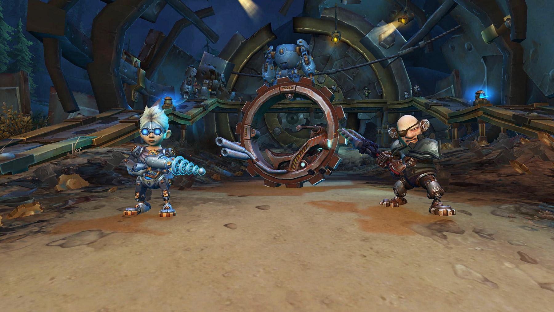 Trixie utilise des attaques électriques pendant que Naeno essaie de vous écraser avec son Mécacycle