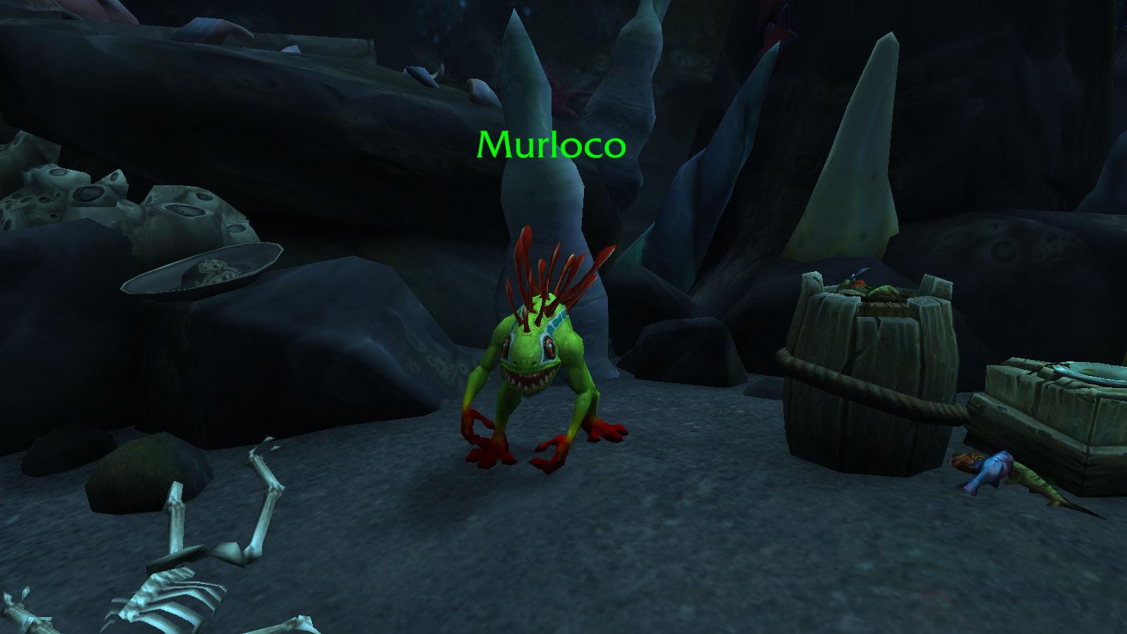 Murloco apparaît seulement pendant 5 minutes