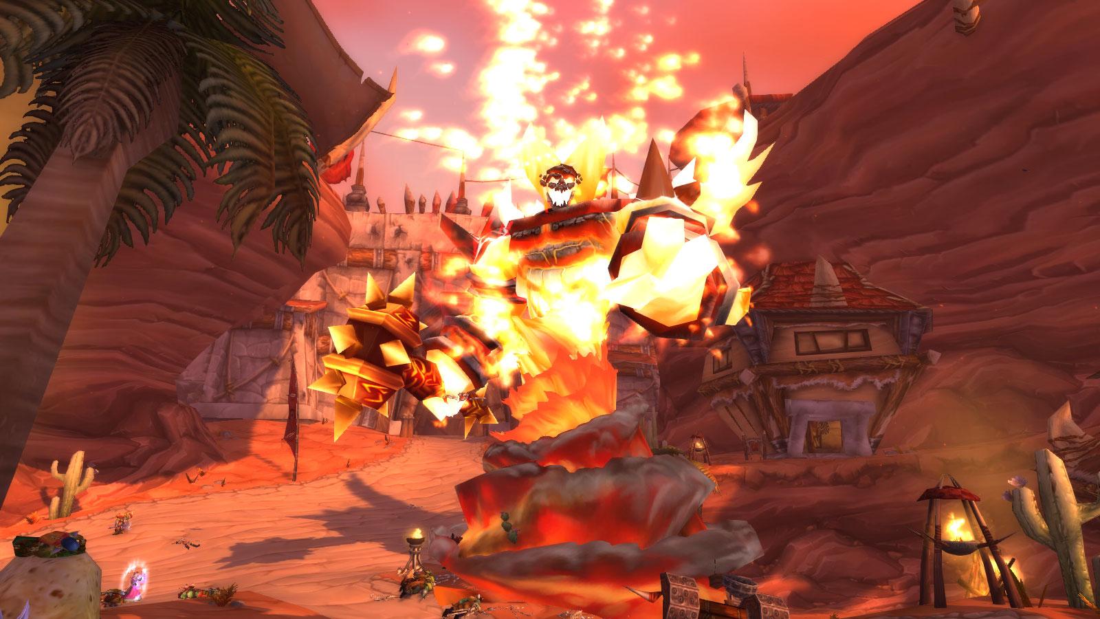 Ragnaros, le Seigneur du feu a clôturé la bêta de WoW Classic