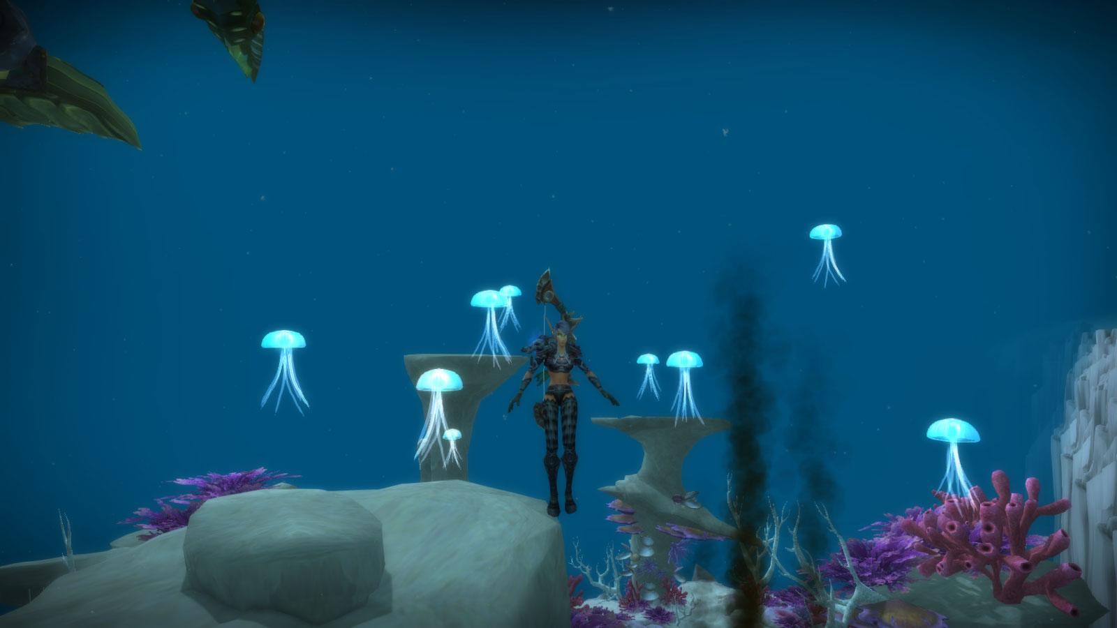 Effet gelée à méduses : vous attirez les méduses