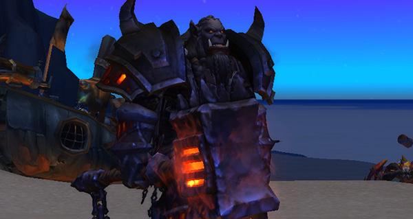 patch 8.2 : up du guerrier armes et du chevalier de la mort givre