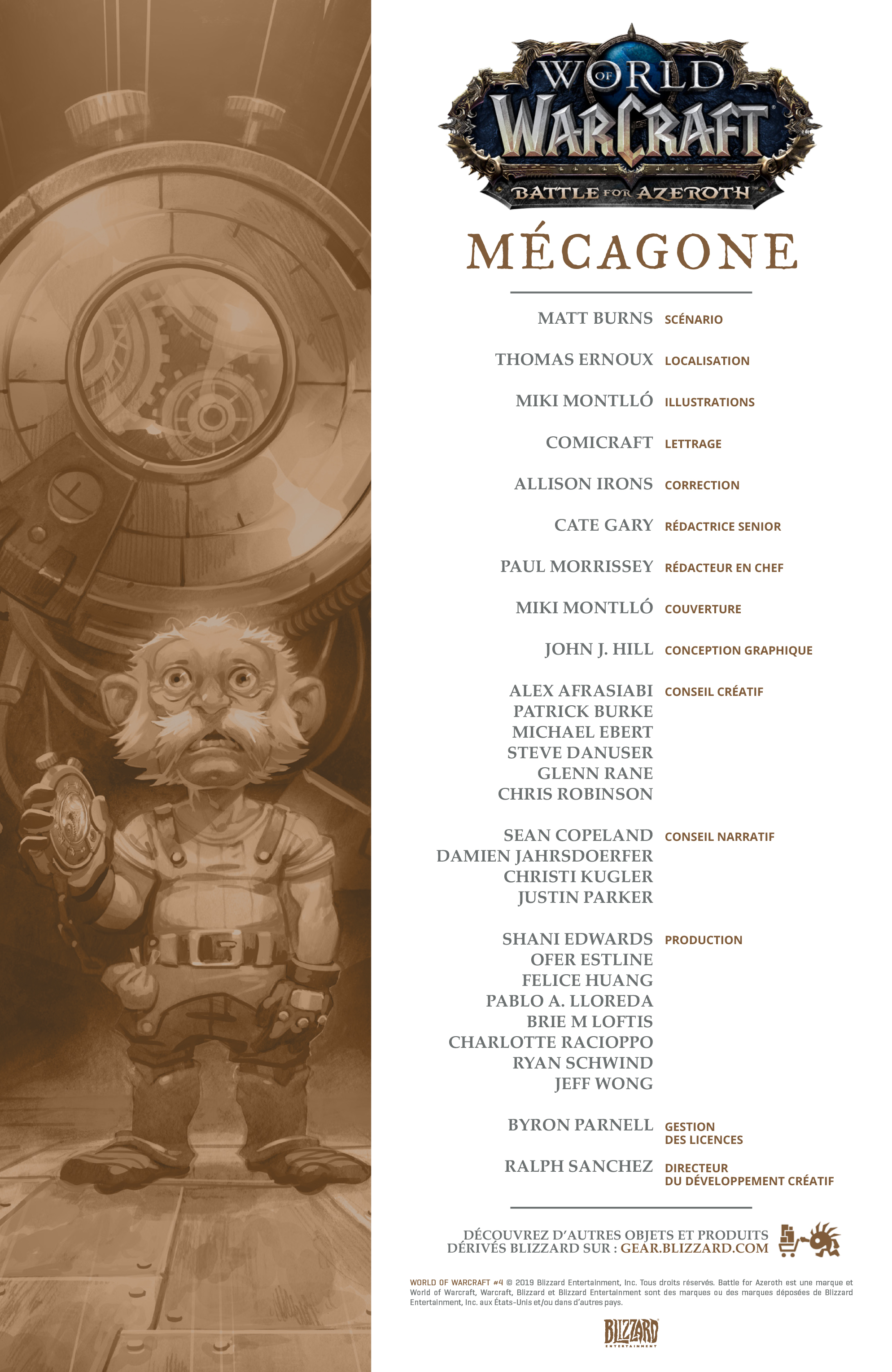 Comic Mécagone