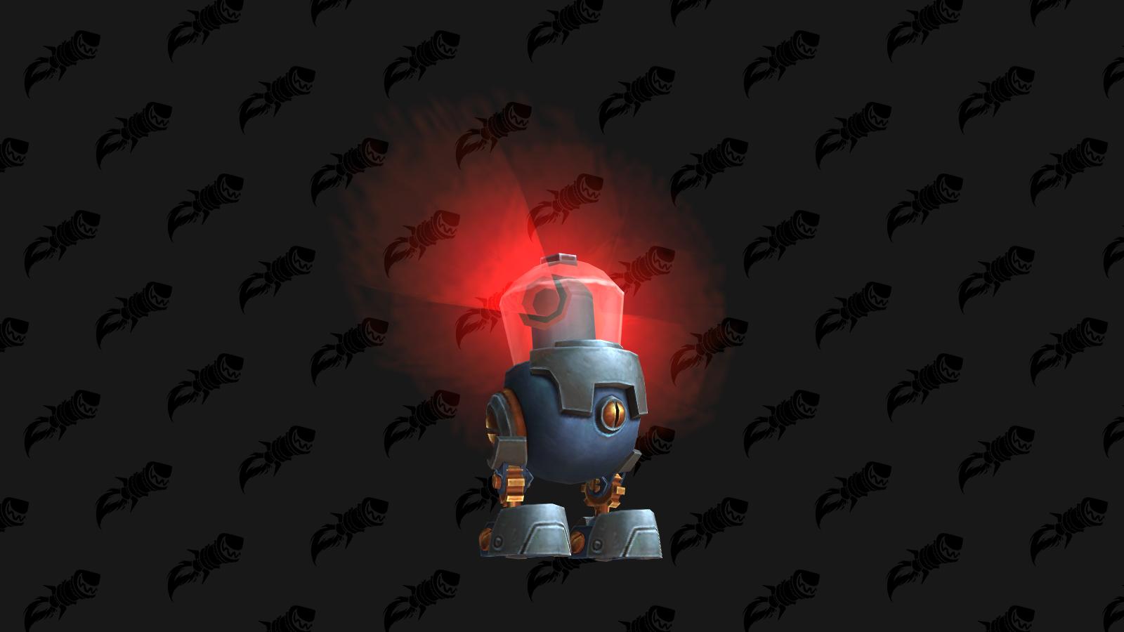 Microbot XD, mascotte de BFA qui s'obtient à Mécagone