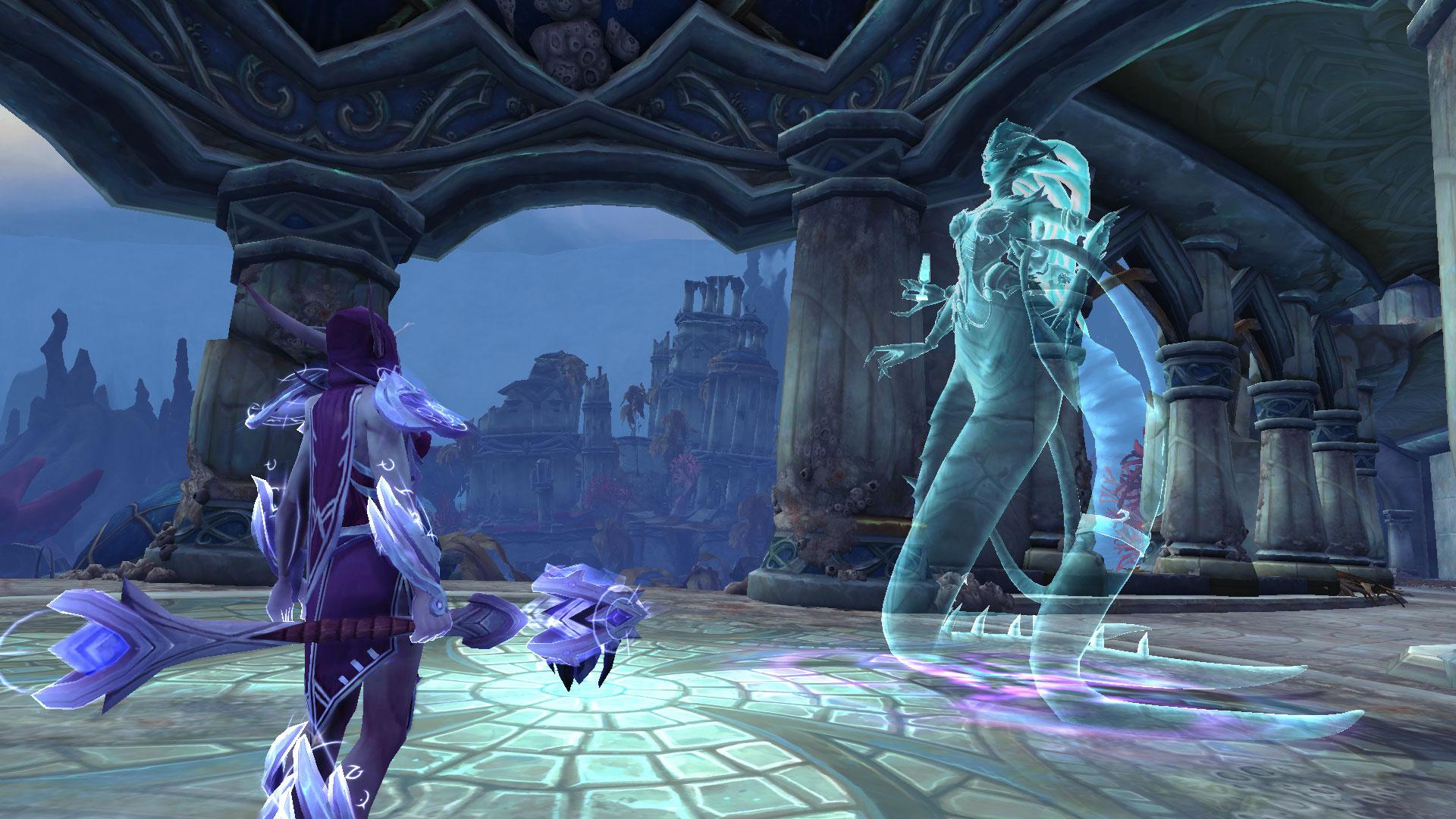 Thalyssra et l'image d'Azshara